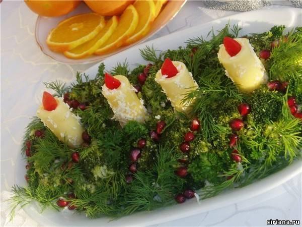 новогодние салаты и закуски фото